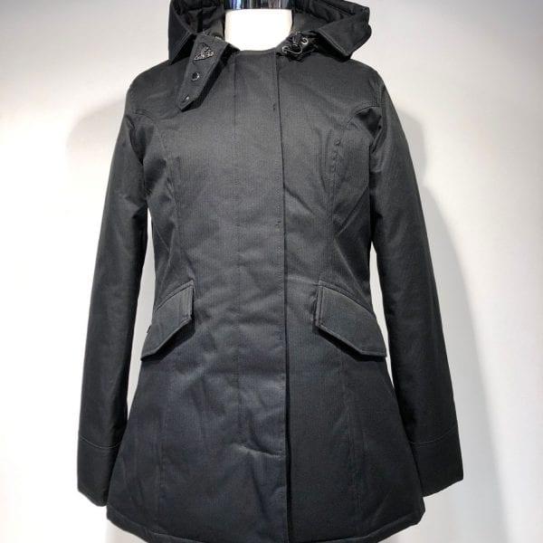 Airforce Dames 2 Pocket Parka True Black