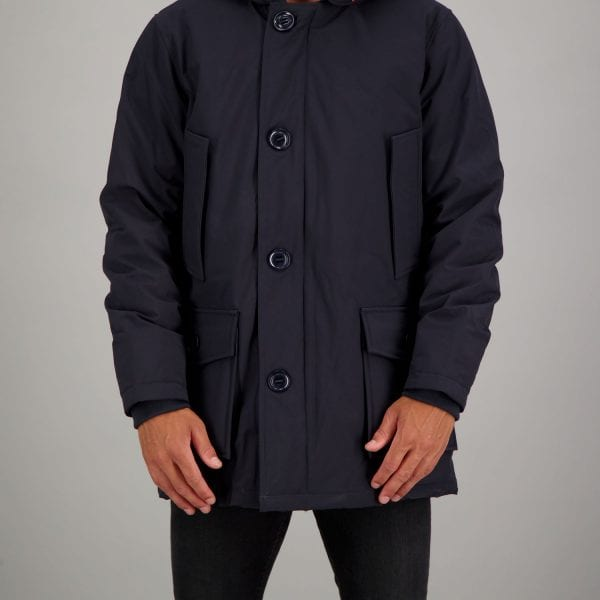 Airforce Heren Classic Parka Dark Navy Blue