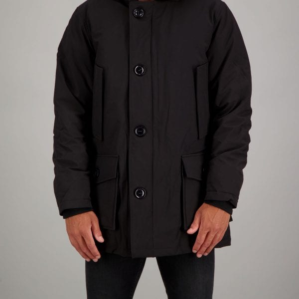 Airforce Heren Classic Parka True Black