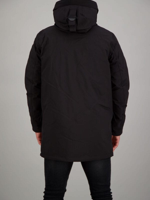 Airforce Heren Snow Parka True Black