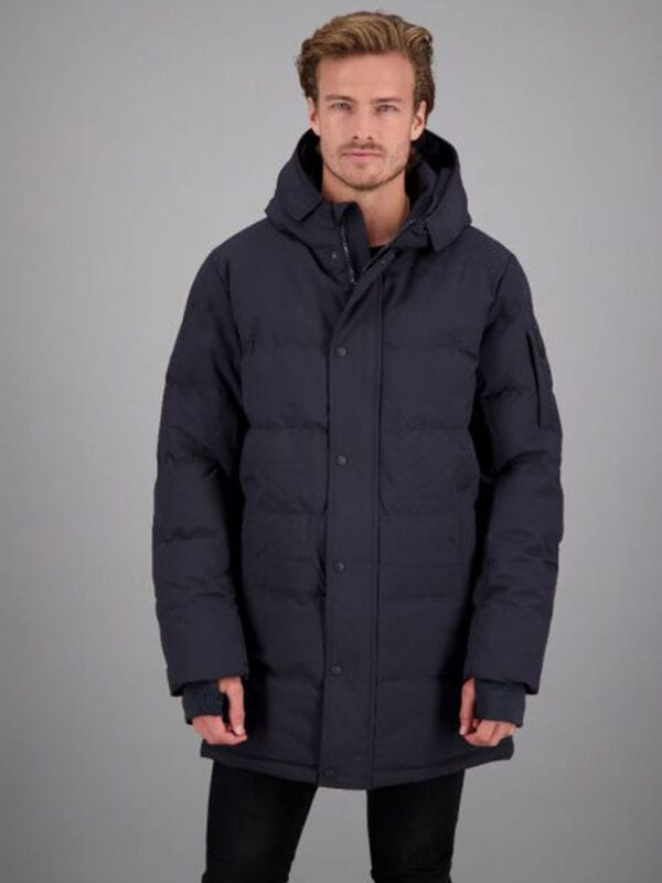Airforce Heren Chuck Parka Dark Navy Blue