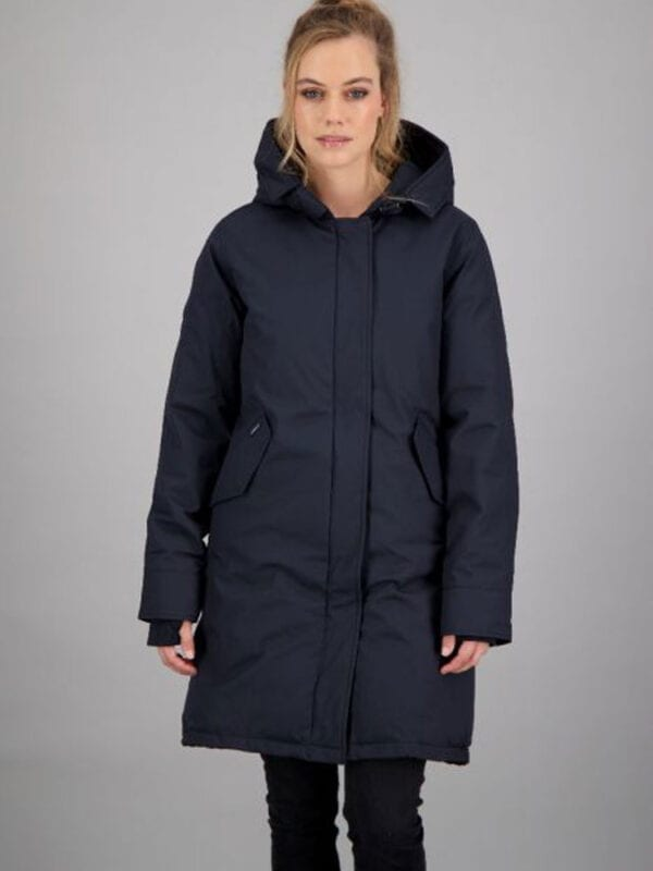 Airforce Dames Fishtail Dark Navy Blue
