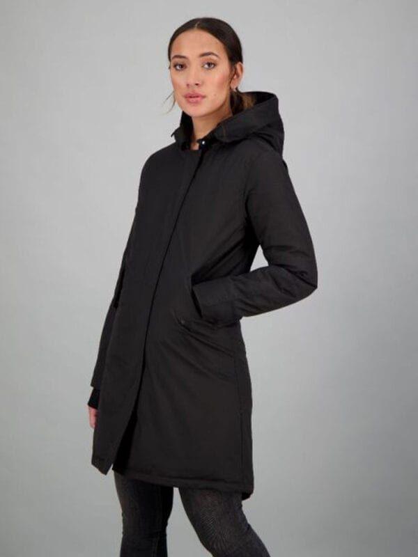 Airforce Dames Fishtail True Black