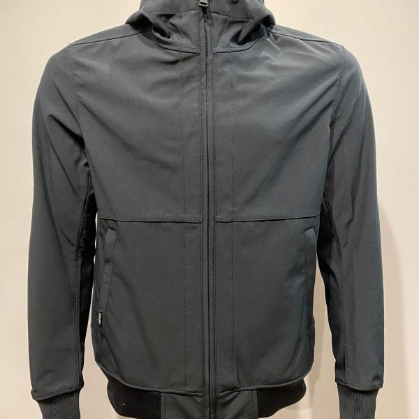Airforce Heren Softshell Jacket Webbing Dark Navy Blue