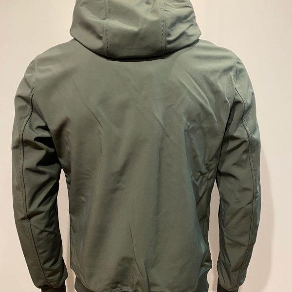 Airforce Heren Softshell Jacket Chestpocket Gun Metal