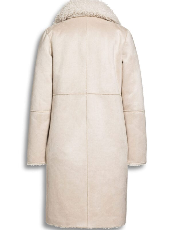 Beaumont Dames Mix Lammy Blazercoat Off White