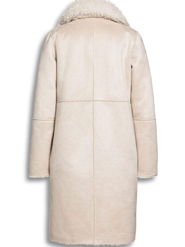 Beaumont Dames Mix Lammy Blazercoat Off White