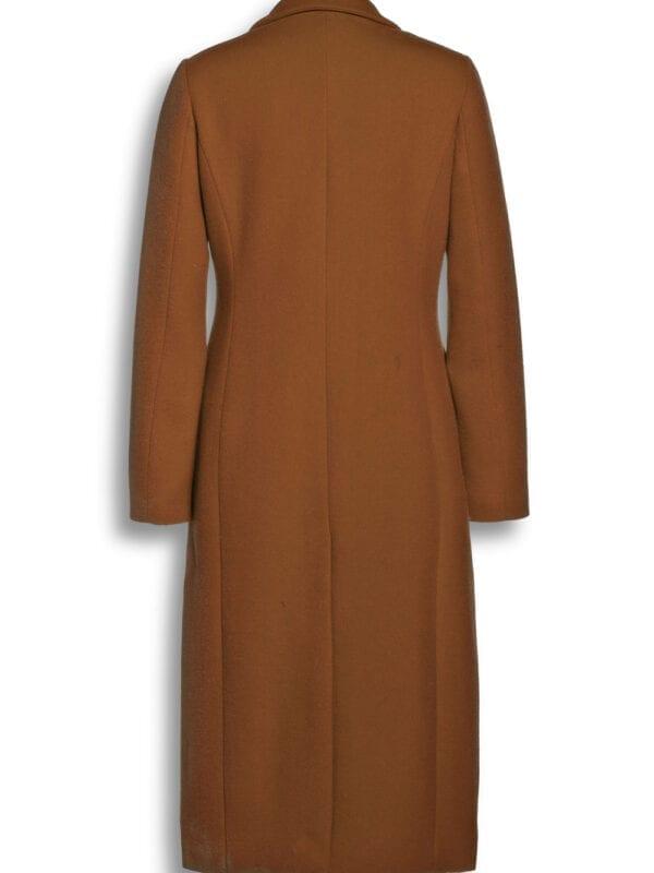 Beaumont Dames Wool Blend Blazercoat Dark Camel