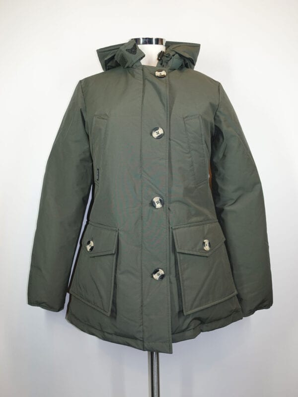 Airforce Dames 4 Pocket Classic Parka Duffelbag/ Groen