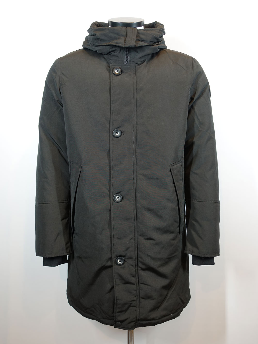 Airforce Heren Jack Parka True Black