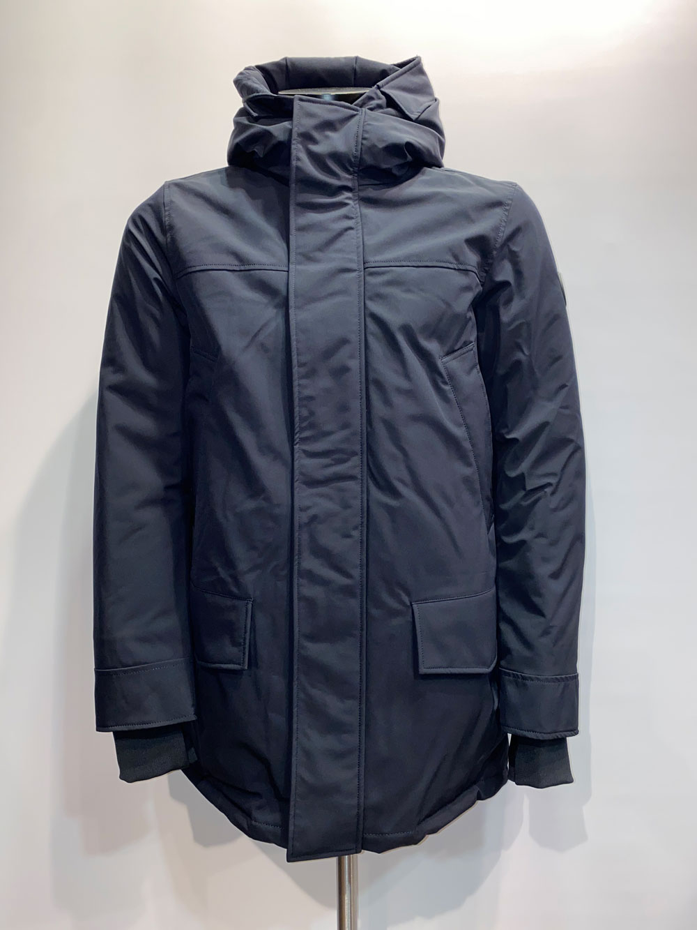 Airforce Heren Snow Parka Dark Navy Blue