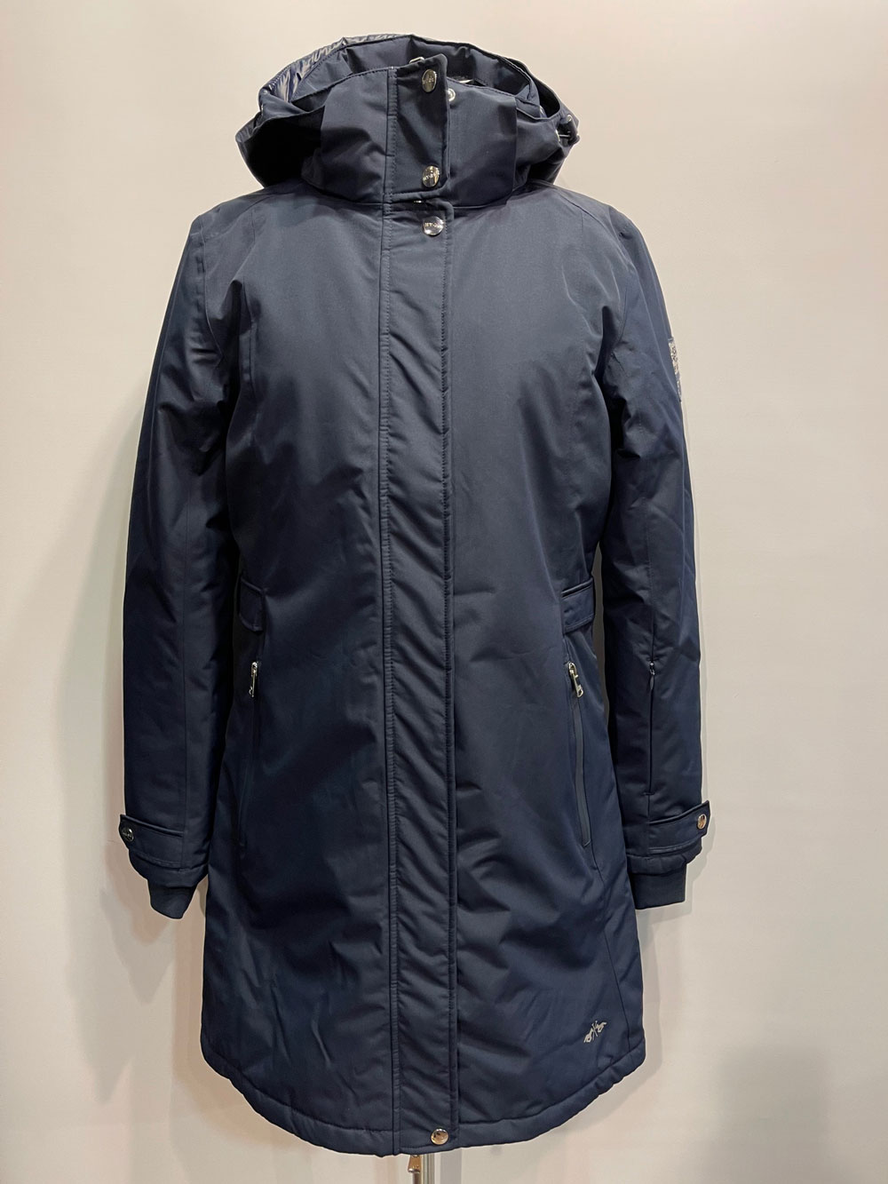 HV Society Dames Parka Jacket Kara Navy