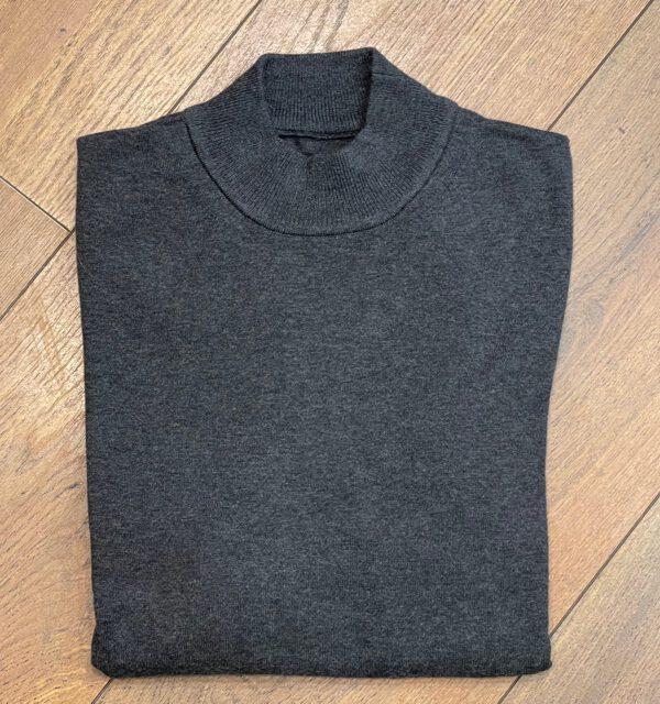 Kultivate KN Mock Dark Grey Melange