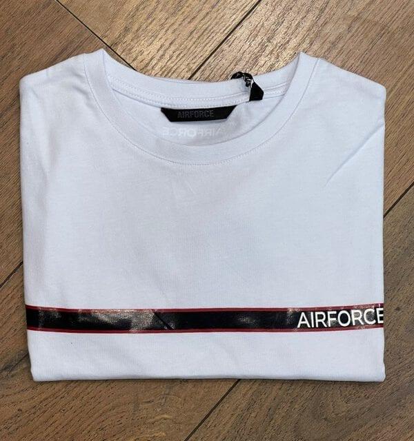 Airforce Chest Stripe White