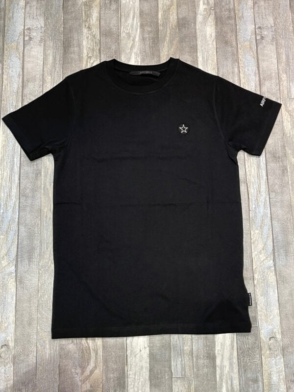 Airforce Embroidery Outline True Black