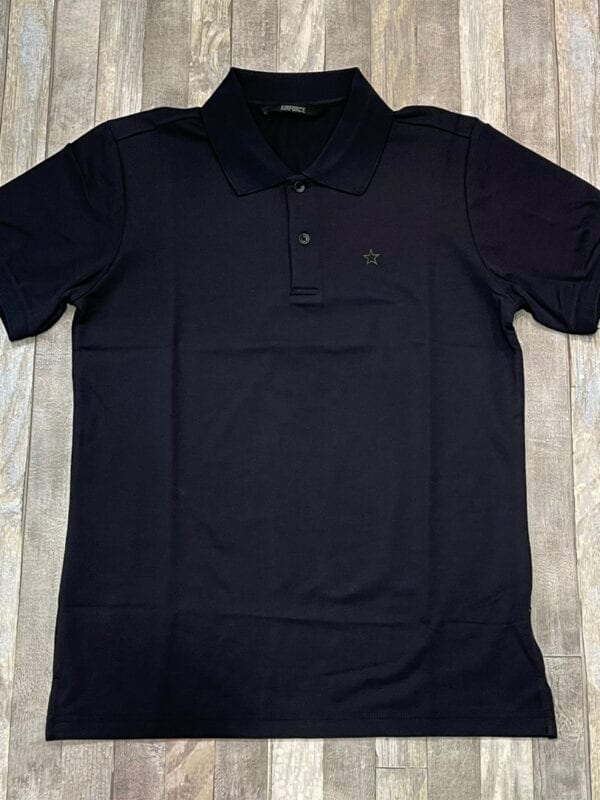 Airforce Polo Outline Star Dark Navy